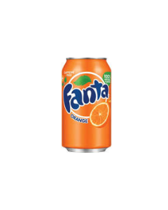 Fanta - Orange Soda - 24/12 oz cans