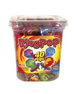 Topps - Ring Pop Canister - 40 ct