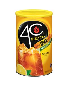 4C Iced Tea Mix, Lemon - Makes 28 quarts