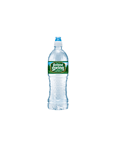 Poland Spring Water - Flip Top Bottles -24/23 oz