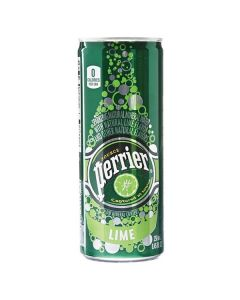 Perrier - Sparkling Mineral Water with Lime Flavor - 35/8.45 oz slim cans