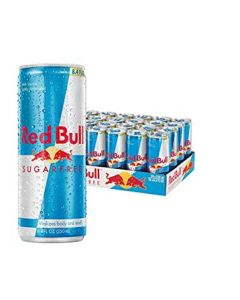 Red Bull Energy Drink, Sugar Free - 24/8.4 oz cans