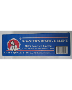 Chef's Quality - Roaster Reserve Blend Coffee - 36 ct