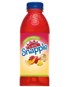 Snapple - Fruit Punch - 24/20 oz bottles