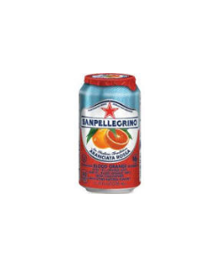 San Pellegrino Aranciata Rossa - Sparkling Blood Orange Drink - 24/11 oz cans
