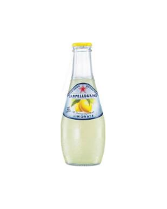 San Pellegrino - Sparkling Lemon Drink - 24/6.5 oz glass bottles