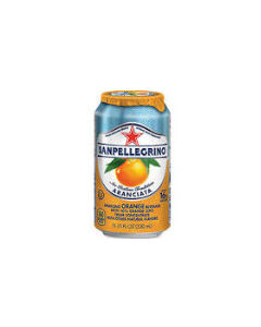 San Pellegrino Aranciata - Sparkling Orange Drink - 24/11.1 oz cans