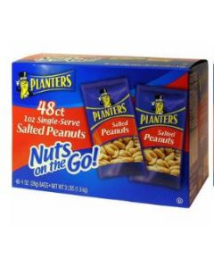 Planters - Salted Cashews Tube - 48 ct