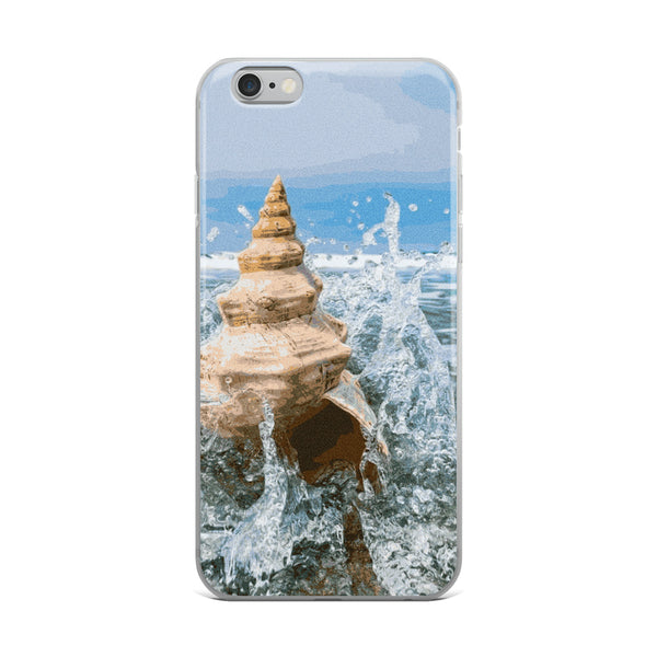 SEASHELL & BELL Conch iPhone Case