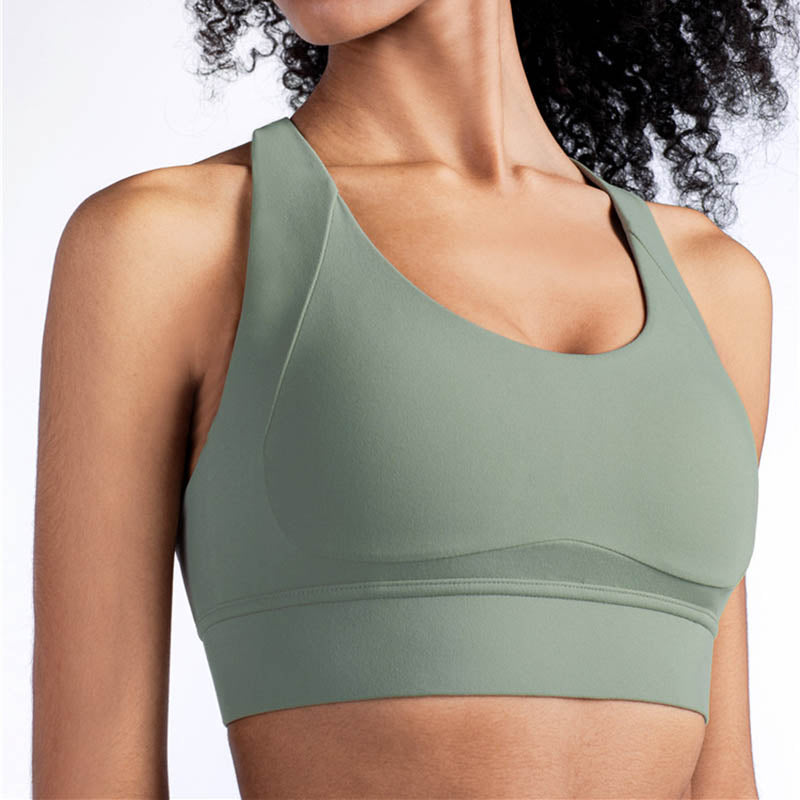 Women High Support Sports Bra -Green