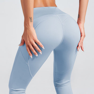 Naked Sensation Yoga Leggings With Pockets