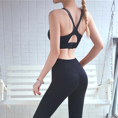 Women Push Up Sports Bra