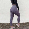 Women Ombre Seamless Leggings Camo Pants