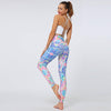 High Waist Elastic Pants Printing Leggings