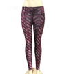 Workout Push Up Printed Leggings - Rose