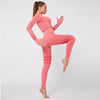 Gym Mesh Breathable Seamless Sets -Pink