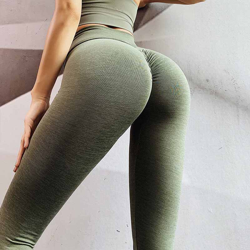 Push Up Squat Proof Workout Leggings