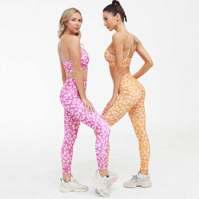 New 2 Piece Set Bra+Pants Women Sports Suit