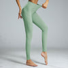 High Waist Sport Leggings Yoga Pants -Green