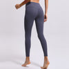 Soft High Waist Yoga Pants -Gray