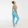 New 2 Piece Set Bra+Pants Women Sports Suit -Blue