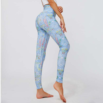 Women Printing Sport Yoga Leggings