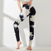 High Waist Push Up Leggings Multicolor -Black