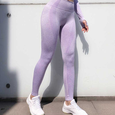 Seamless Leggings - Purple