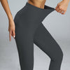 High Waist Sport Leggings Yoga Pants -Black