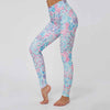 Women Casual Fitness Printing Leggings