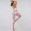 New Floral Printing Gym Fitness Leggings