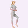 Women's Seamless Clothing Long Sleeve -Pink