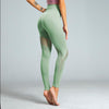 High Waist Solid Color Seamless Leggings