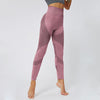 High Waist Sport Wear Seamless Leggings -Pink