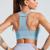 Workout High Elastic Bra Tops With Pocket