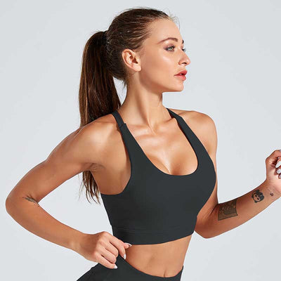 Fitness Workout Crop Top Sports Bra
