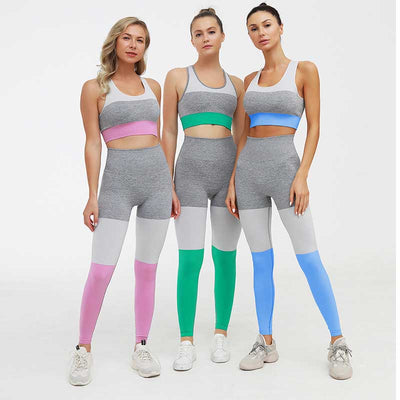 Casual Seamless Suit Workout 2 Pieces Set