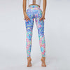 High Waist Elastic Pants Printing Leggings -Multicolor