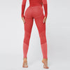 New Fitness Seamless Set Women Tracksuit -Red