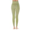 Yoga Sporting Seamless Leggings - Army Green