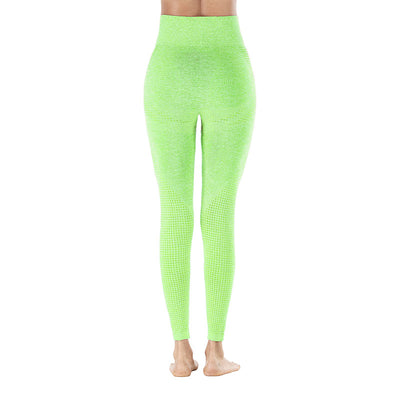 Yoga Sporting Seamless Leggings - Fluorescent