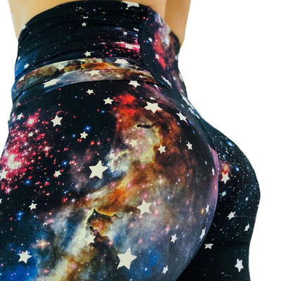 Women Starry Printing Leggings