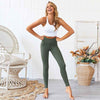 Women Push Up Yoga Pants  High Waist - Green