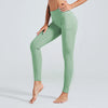 Naked Sensation Yoga Leggings With Pockets - Green