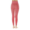 Yoga Sporting Seamless Leggings - Red