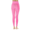 Yoga Sporting Seamless Leggings - Rose Red