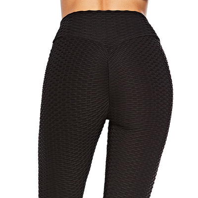 Women Workout Sports Pants - Black