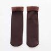 Winter Warm Thicken Thermal Wool Socks - Wine Red