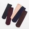 Winter Warm Thicken Thermal Wool Socks - Blue - Wine Red - Black - Kahaki