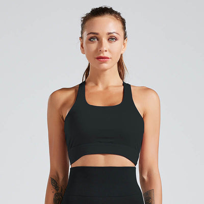 Women Gym Yoga Bra Crop Tops